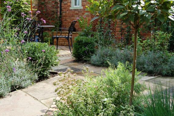 Mini-herb-garden