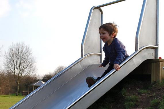 Village-playground-slide